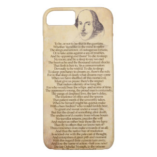 Shakespeare on your iPhone - Hamlet iPhone 8/7 Case