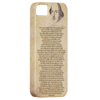 Shakespeare on your iPhone - Romeo & Juliet iPhone 5 Cover