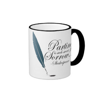 Shakespeare Parting Is Such Sweet Sorrow Mug
