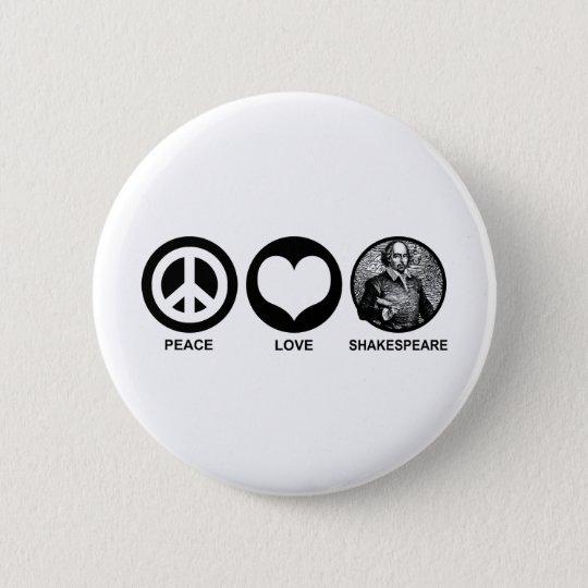 Shakespeare Pinback Button
