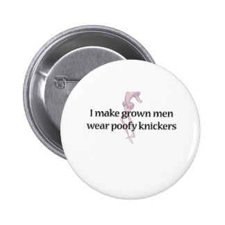 Shakespeare Poofy Knickers Pinback Buttons