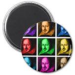 Shakespeare Pop Art Fridge Magnet