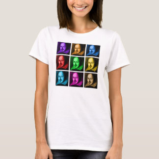 Shakespeare Pop Art T-Shirt
