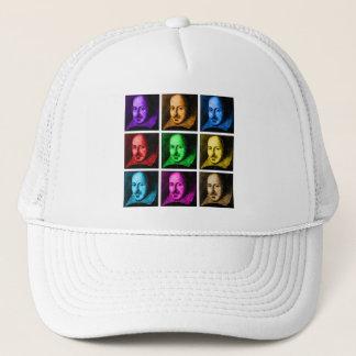 Shakespeare Pop Art Trucker Hat