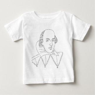 Shakespeare Portrait Baby T-Shirt