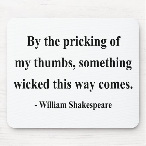 Shakespeare Quote 10a Mouse Pad