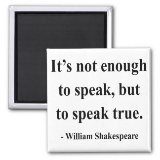 Shakespeare Quote 11a Magnet