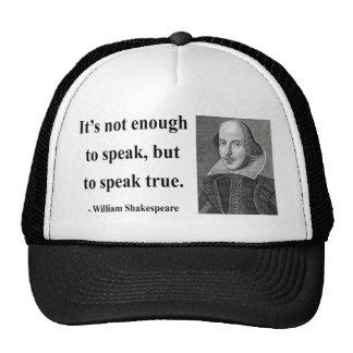 Shakespeare Quote 11b Trucker Hat