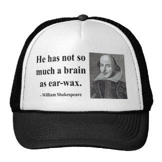 Shakespeare Quote 12b Trucker Hat