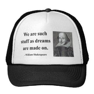 Shakespeare Quote 2b Trucker Hat