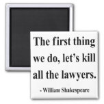 Shakespeare Quote 4a Fridge Magnet