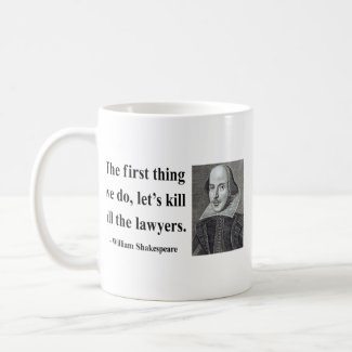 Shakespeare Quote 4b mug