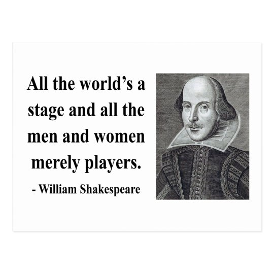 Shakespeare Quote 5b Postcard