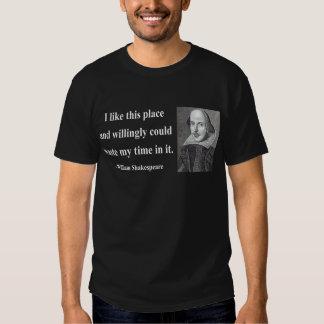 Shakespeare Quote 6b Tshirt