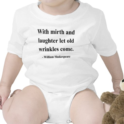 Shakespeare Quote 7a Baby Bodysuits