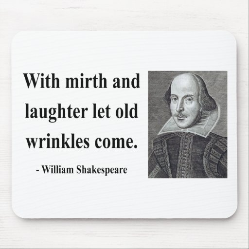 Shakespeare Quote 7b Mouse Pad