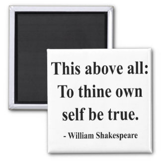 Shakespeare Quote 8a 2 Inch Square Magnet