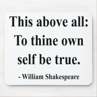 Shakespeare Quote 8a Mouse Pad