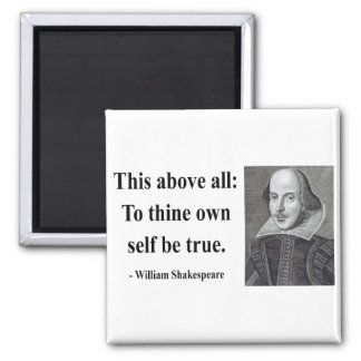 Shakespeare Quote 8b 2 Inch Square Magnet