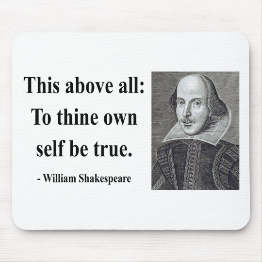 Shakespeare Quote 8b Mouse Pad