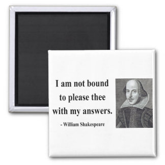 Shakespeare Quote 9b 2 Inch Square Magnet