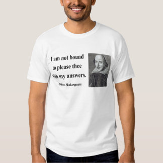 Shakespeare Quote 9b T Shirts