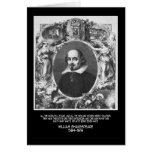 Shakespeare Quote ~ All The World's A Stage Greeting Cards