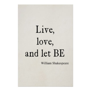 Live And Let Live Posters Photo Prints Zazzle