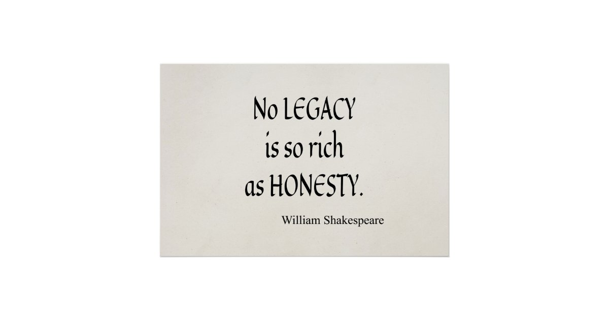 no legacy is so rich as No legacy is so rich as honesty lopaka_tanu summary: the history of manticore is founded upon the destruction of a family joshua was more than just the first .