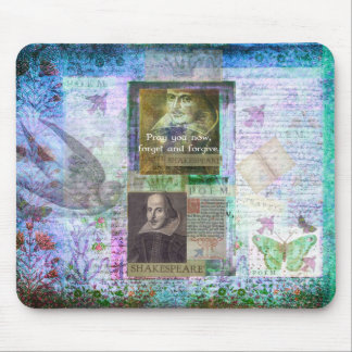 Shakespeare quote on life and forgiveness mouse pads