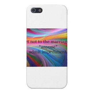 Shakespeare radical iPhone 5 carcasas