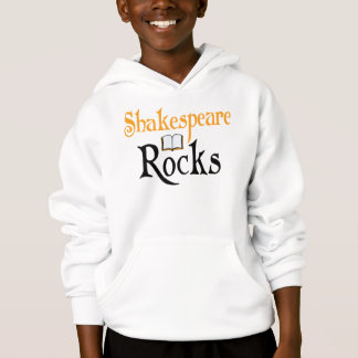 Shakespeare Rocks Reading Gift Hoodie