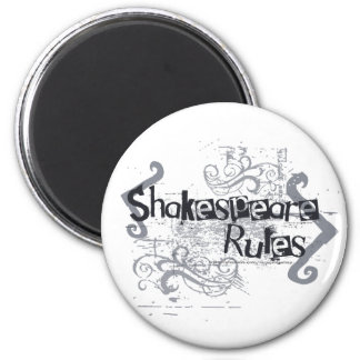 Shakespeare Rules Refrigerator Magnets