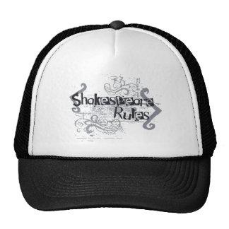 Shakespeare Rules Trucker Hat