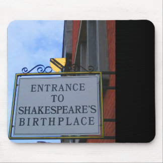 Shakespeare's Birthplace Mousepad