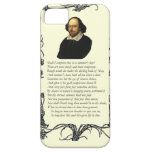 Shakespeare Shall I compare thee to a summer's day iPhone 5 Covers