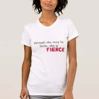shakespeare - she is fierce and strong tshirt