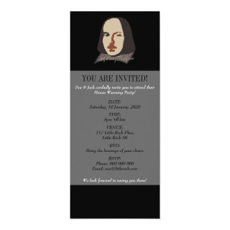 Shakespeare Signature Image Card