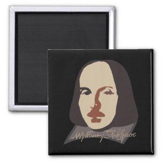 Shakespeare Signature Image Fridge Magnets