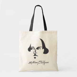 Shakespeare simple con la firma bolsa tela barata