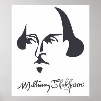 Shakespeare simple con la firma impresiones