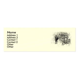 Shakespeare Sonnet # 18 Double-Sided Mini Business Cards (Pack Of 20)