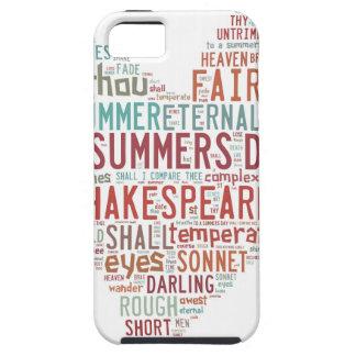 Shakespeare Sonnet 18 iPhone SE/5/5s Case
