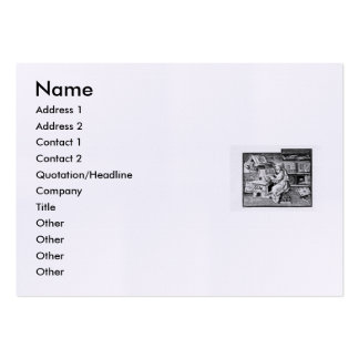 Shakespeare Sonnet # 18 Large Business Cards (Pack Of 100)