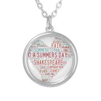 Shakespeare Sonnet 18 Jewelry