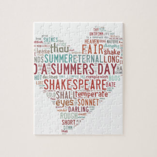 Shakespeare Sonnet 18 Jigsaw Puzzles