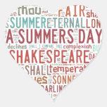 Shakespeare Sonnet 18 Sticker