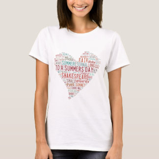 Shakespeare Sonnet 18 T-Shirt