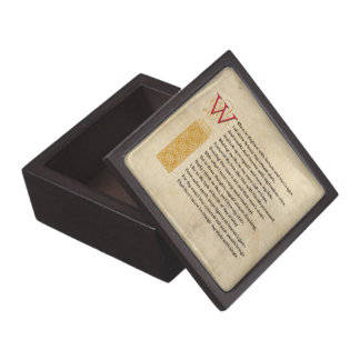 Shakespeare Sonnet 29 (XXIX) on Parchment Gift Box