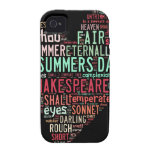 Shakespeare Sonnet iPhone 4/4S Case